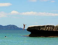 Ocean jumps