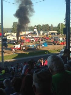 Tractor pull, duh.